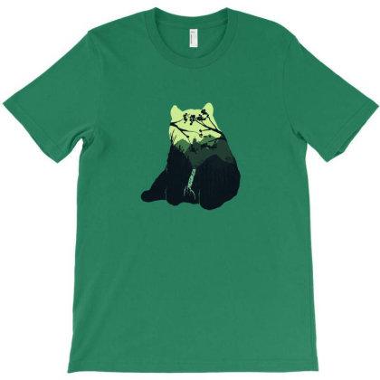 Stay Wild Panda T-shirt Designed By Sebasebi