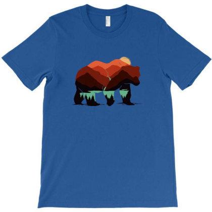 Stay Wild Bear T-shirt Designed By Sebasebi