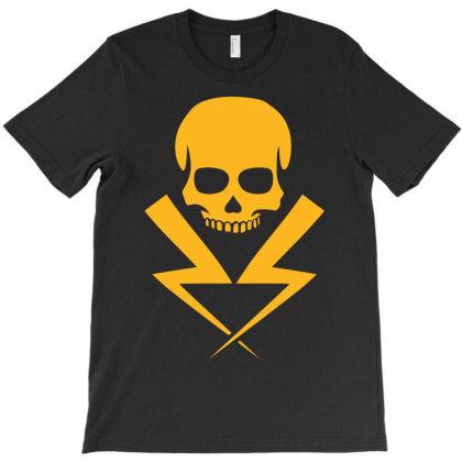 Electricity Skull Funny T-shirt Designed By Ramateeshirt