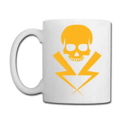 Electricity Skull Funny Coffee Mug Designed By Ramateeshirt