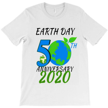 Earth Day 2020 50th Anniversary T-shirt Designed By Elegance99