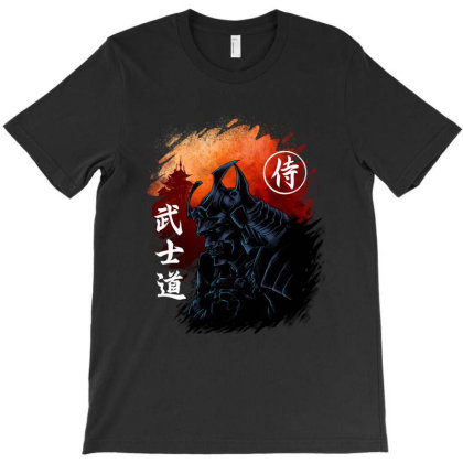 Bushido Samurai T-shirt Designed By Sober Artwerk