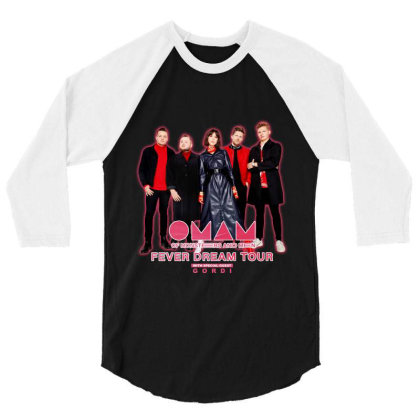 New Oman Of Monsters And Men Gordi Fever Dream Tour 2020 3/4 Sleeve Shirt Designed By Robcornell830503