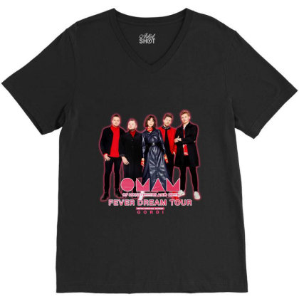 New Oman Of Monsters And Men Gordi Fever Dream Tour 2020 V-neck Tee Designed By Robcornell830503
