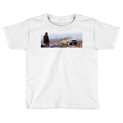 Range Rover Toddler T-shirt Designed By Evluk