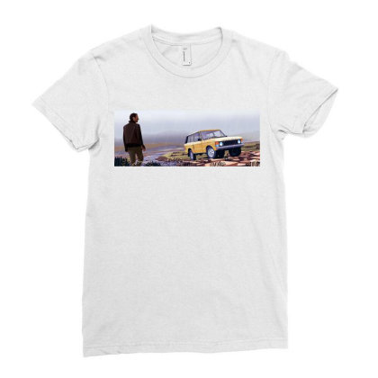 Range Rover Ladies Fitted T-shirt Designed By Evluk