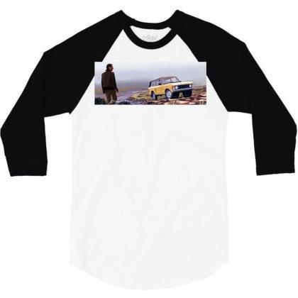 Range Rover 3/4 Sleeve Shirt Designed By Evluk