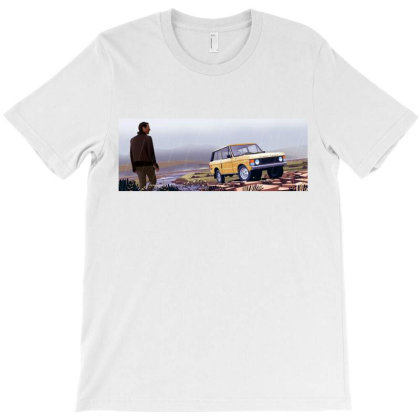 Range Rover T-shirt Designed By Evluk