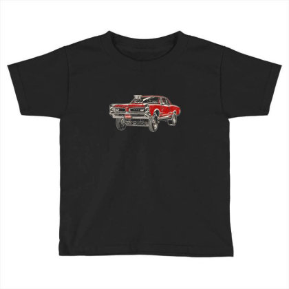 1966 Poncho Gto Gasser Coupe Toddler T-shirt Designed By R1m4