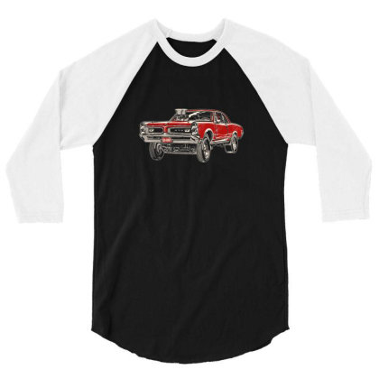 1966 Poncho Gto Gasser Coupe 3/4 Sleeve Shirt Designed By R1m4