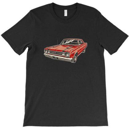 1967 Belvedere Gtx440 Muscle Car T-shirt Designed By R1m4