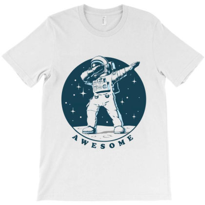 Awesome Astronaut T-shirt Designed By Designisfun