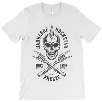 Rockstar Skull T-shirt Designed By Designisfun
