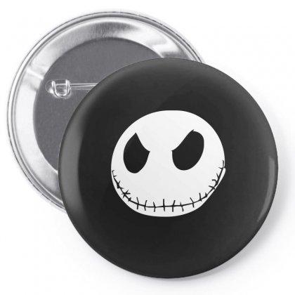 Jack Skellington The Nightmare Pin-back Button Designed By Mdk Art