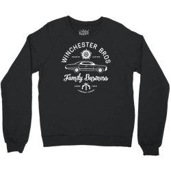 family business   winchester bros   occult horror Crewneck Sweatshirt | Artistshot