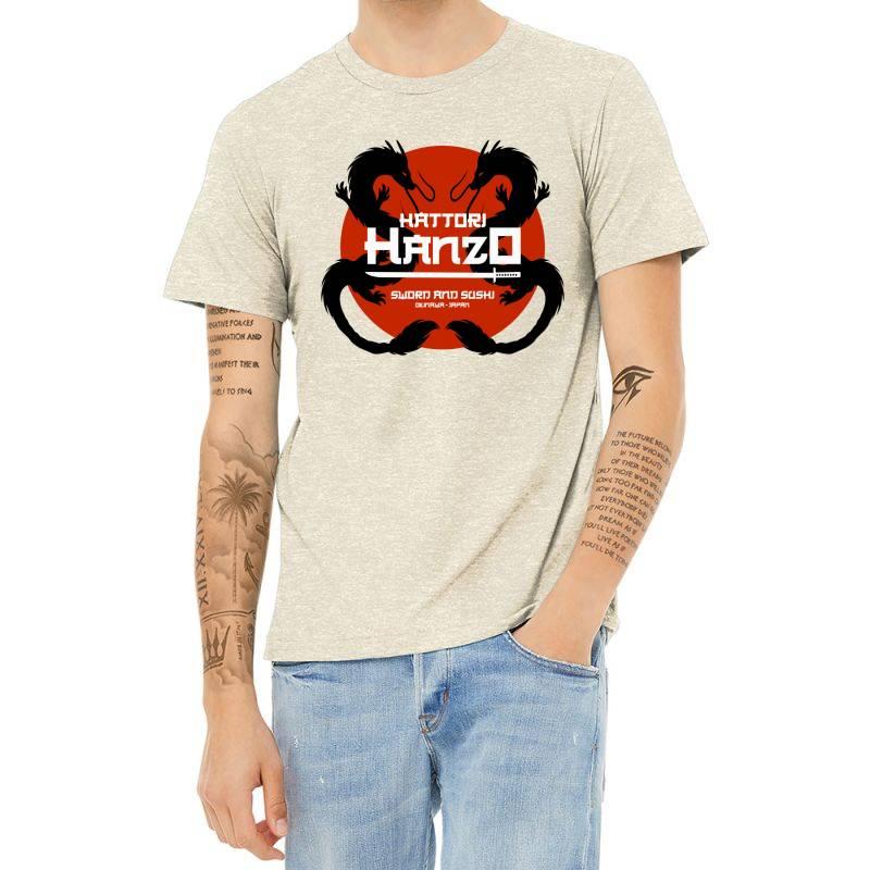 Sword And Sushi Heather T-shirt   Artistshot