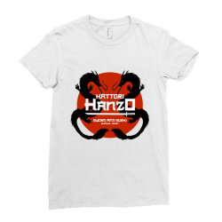 Sword and Sushi Ladies Fitted T-Shirt | Artistshot