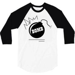 Bomb 3/4 Sleeve Shirt | Artistshot