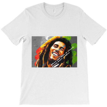 Bob Marley T-shirt Designed By Uniquetouch
