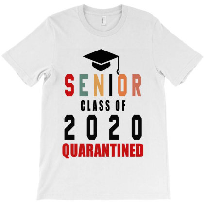 Senior Class Of 2020 Quarantine T-shirt Designed By Elegance99