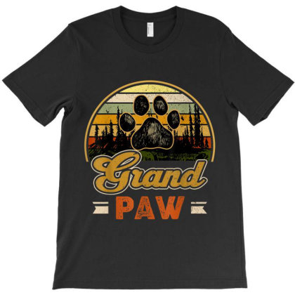 Grandpaw Retro Vintage T-shirt Designed By Mrt90