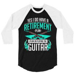 Music guitar 3/4 Sleeve Shirt | Artistshot