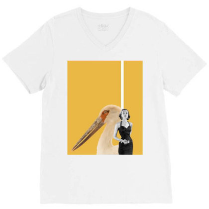Match Point V-neck Tee Designed By Choosecollage