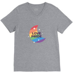 Love pride day V-Neck Tee   Artistshot