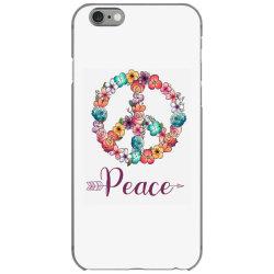 peace floral sing iPhone 6/6s Case | Artistshot
