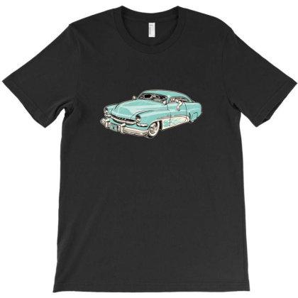 1951 Merc Chopped Kustom T-shirt Designed By R1m4