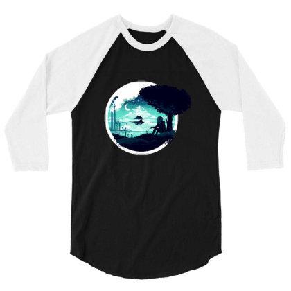 At Night 3/4 Sleeve Shirt Designed By Alda_gaby
