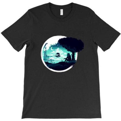 At Night T-shirt Designed By Alda_gaby