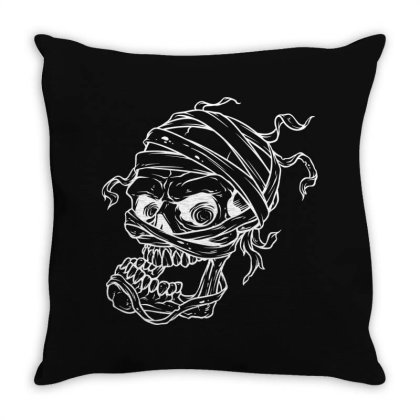 Skull Throw Pillow Designed By Estore