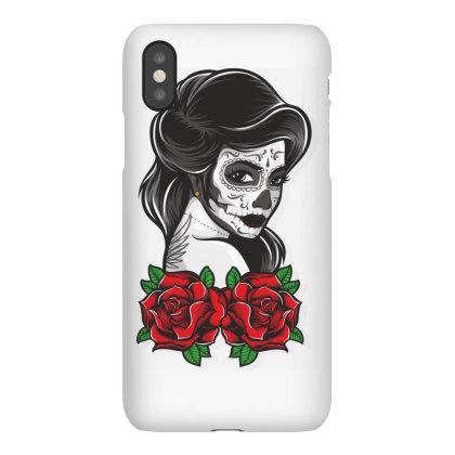 Skull Girl Iphonex Case Designed By Estore