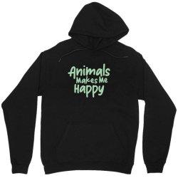 animals makes me happy Unisex Hoodie   Artistshot