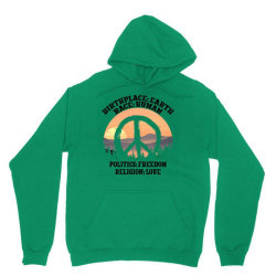 birthplace earth race human politics freedom religion love for light Unisex Hoodie | Artistshot