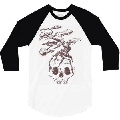 Immortal 3/4 Sleeve Shirt Designed By Sketchfunart