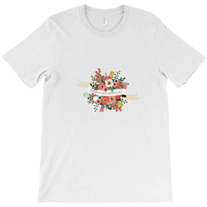 Happymother'sday T-shirt, Happy T-shirt T-shirt Designed By Uniquetouch