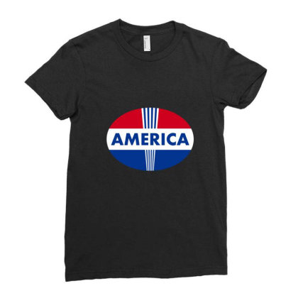 Election 2020 T-thirt, America Ladies Fitted T-shirt Designed By Uniquetouch