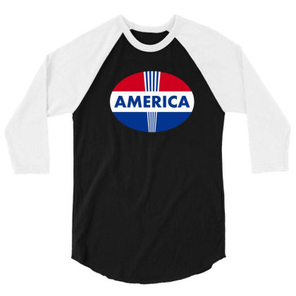 Election 2020 T-thirt, America 3/4 Sleeve Shirt Designed By Uniquetouch