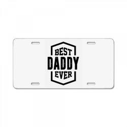 Daddy License Plate | Artistshot