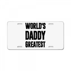 Daddy License Plate | Artistshot