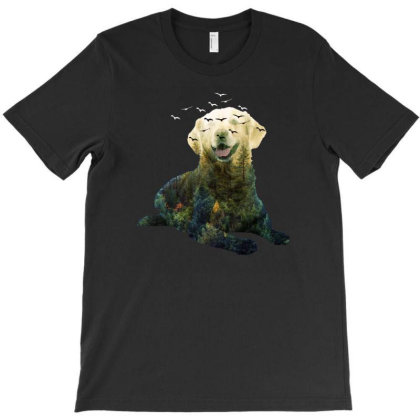 Forest Dog T-shirt Designed By Gurkan