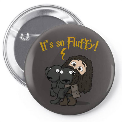 Its So Fluffy! Pin-back Button Designed By Raffiti