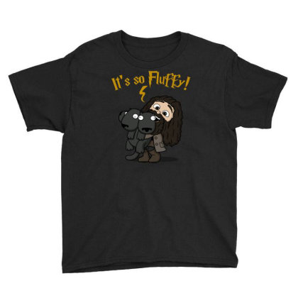 Its So Fluffy! Youth Tee Designed By Raffiti