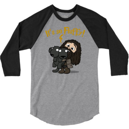 Its So Fluffy! 3/4 Sleeve Shirt Designed By Raffiti