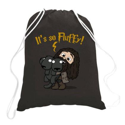Its So Fluffy! Drawstring Bags Designed By Raffiti