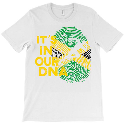 It's In Our Dna Brazil Flag T-shirt Designed By Cogentprint
