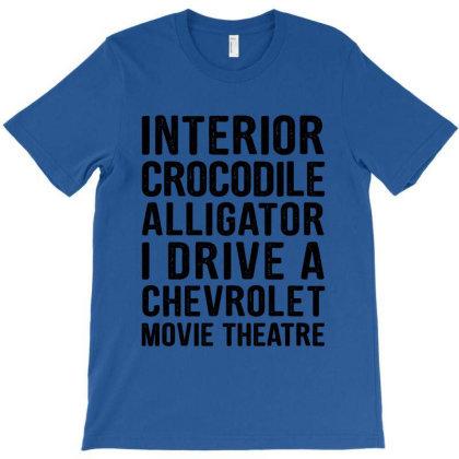 Meme Interior Crocodile Alligator Funny T-shirt Designed By Helloshop