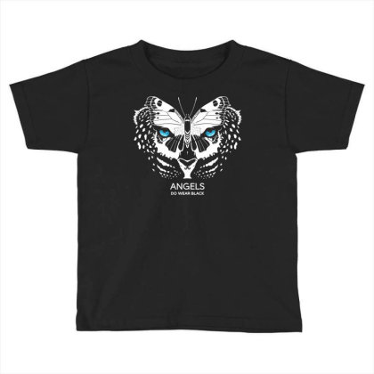 Angels Do Wear Black   Jonny Cota Studio Print Toddler T-shirt Designed By Amber Petty